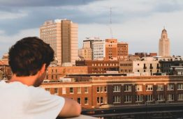 Student overlooking Dublin 262x171 How to Choose Your University Accommodation in Dublin